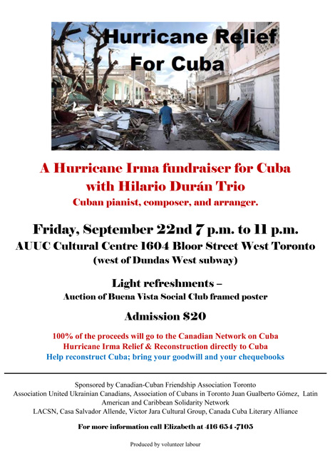 Hurricane Relief for Cuba